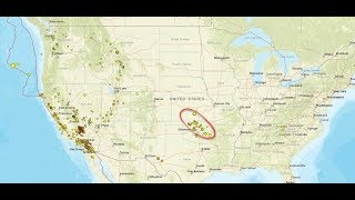 **This Isn't Normal!** Kansas & Oklahoma Hit By 65 QUAKES In Last 7 Days! HUGE CRACK across USA!