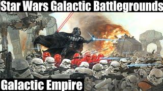 Star Wars Galactic Battlegrounds Gameplay - Galactic Empire