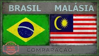 BRASIL x MALÁSIA - Comparativo de Força Militar [2018]