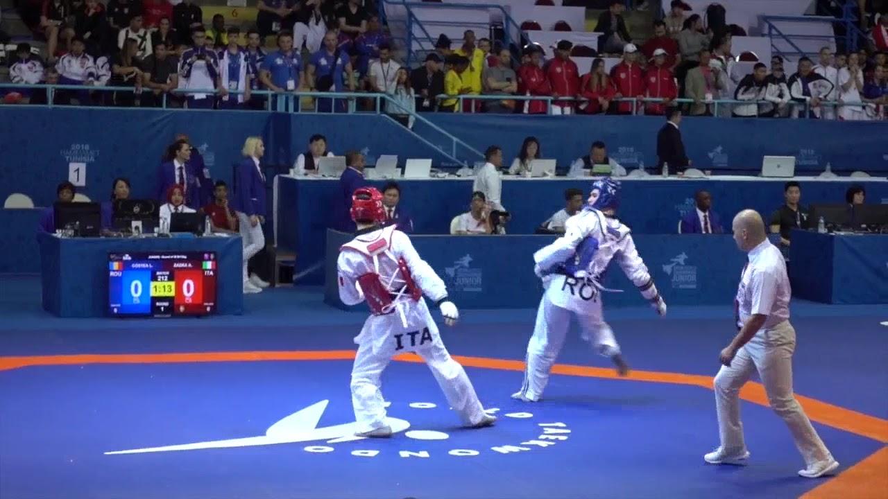 1471a7457cd9e Taekwondo Youth Olympic Games 2018, Qualification: Alexander Zadra ...