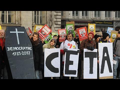 Secretive Proceedings Over CETA Trade Deal Draw Public Ire (1/2)