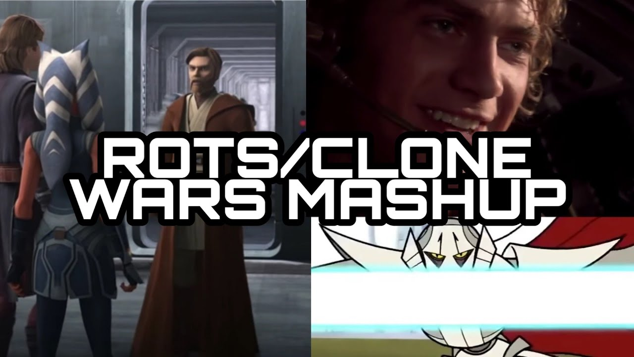 Clone Wars Revenge Of The Sith Parallel Mashup Youtube