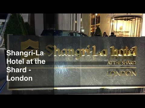 Shangri-la At The Shard - London Complete Walk Through Inc Gong And Ting Bars And Restaurants