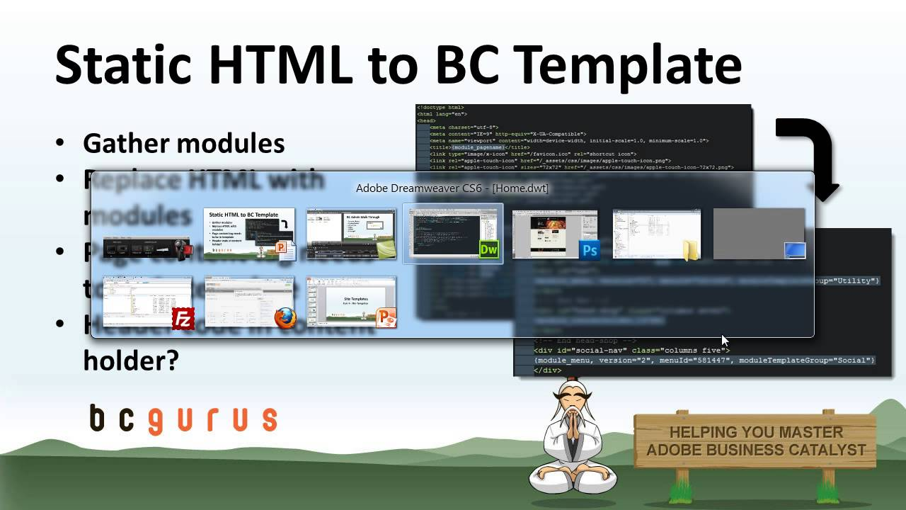 Business catalyst site templates setup adobe bc training youtube accmission Choice Image