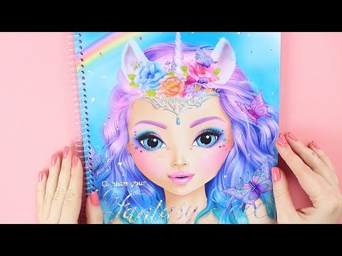 How to draw a Fantasy Face | TOPModel Gesicht malen || Foxy Draws