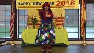 4. Kaimiola Polynesian Dance (Múa) [Xuân Mậu Tuất 2018 ở Tacoma]