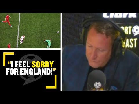 """""""I FEEL SORRY FOR ENGLAND!""""😥 Ally McCoist says England deserved to win without penalty controversy"""