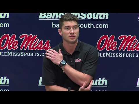 Ole Miss Football: Shea Patterson Press Conference (7-24-17)