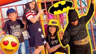 ميمي ونور طلبو باتمان للمساعده !💪🙏