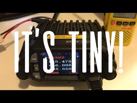 QYT KT-8900D Mini Mobile Transceiver - IT'S TINY!