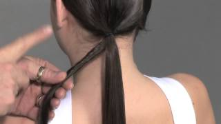 Плетение жгутов в стиле 40-х - видео-урок по подиумной прическе
