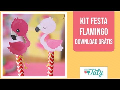 Kit Festa Flamingo Download Gratis Thiara Ney Youtube