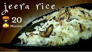 Jeera Rice   Rice Recipe in 20 minutes