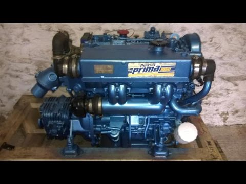 For Sale: Perkins Prima M60 59hp Marine Diesel Engine Package - GBP 2,295