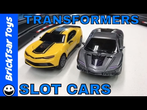 🔴 Slot Cars Live – Carrera Go!! Transformers Bumblebee Chase