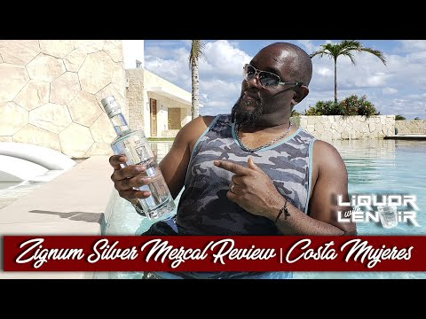 Zignum SIlver Mezcal Review - Majestic Elegance Costa Mujeres Resort