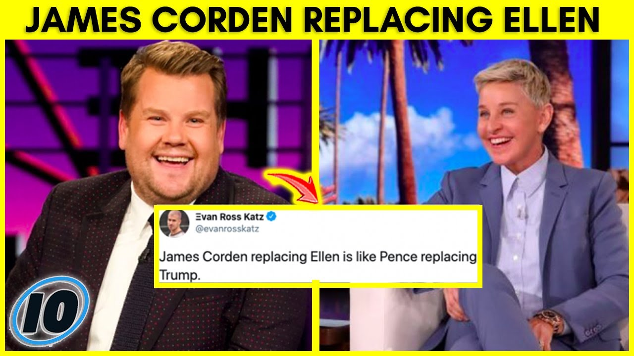James Corden To Replace Ellen Degeneres