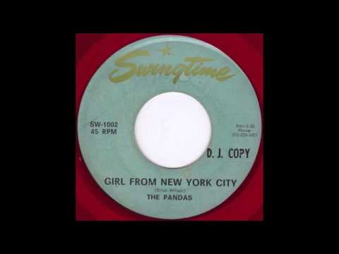 The Pandas - Girl From New York City (1966)