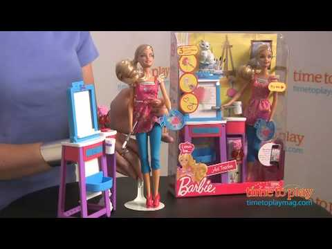 Barbie I Can Be Art Teacher from Mattel
