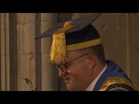 Chelmsford graduation ceremony (3pm), 11 October 2017