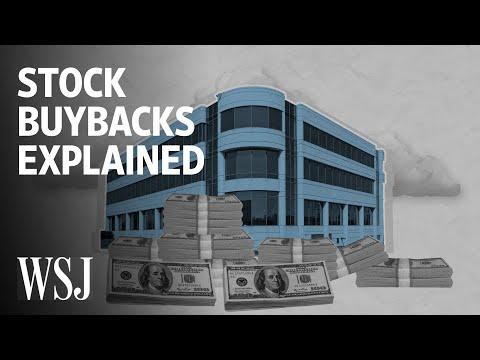 The Debate Over Stock Buybacks, Explained   WSJ