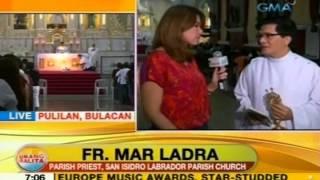 UB: Healing mass sa simbahan ni San Isidro Labrador, dinarayo ng mga deboto tuwing Martes