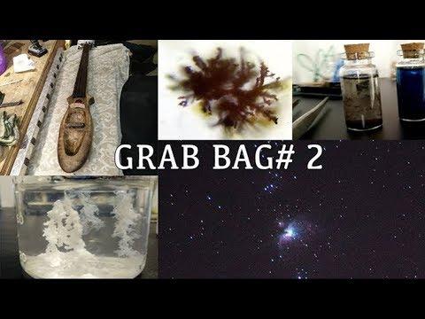 Astrophotography, Copper Oxide, Reverse Crystals Gardens, A DIY Cello and  More! - Grab Bag # 2