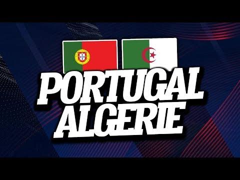 Portugal - Algérie (3-0) // Live Reaction & Commentaire - ClubHouse