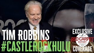 Tim Robbins interviewed at the premiere for S2 of Castle Rock on Hulu #CastleRock #Hulu