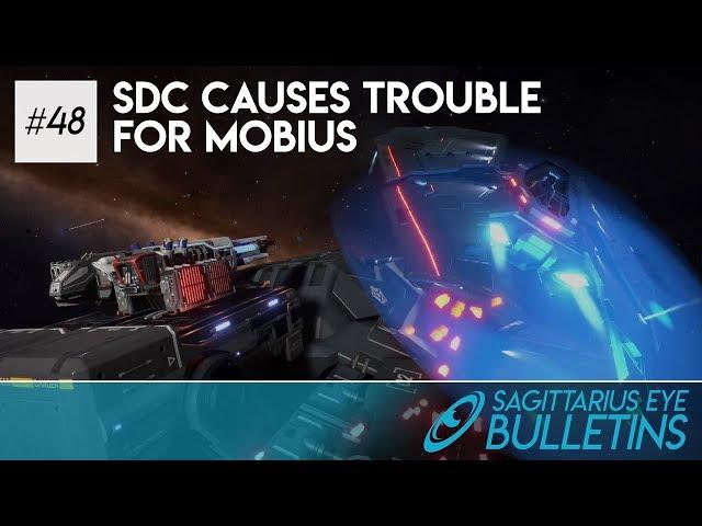 Sagittarius Eye Bulletin - SDC Causes Trouble For Mobius