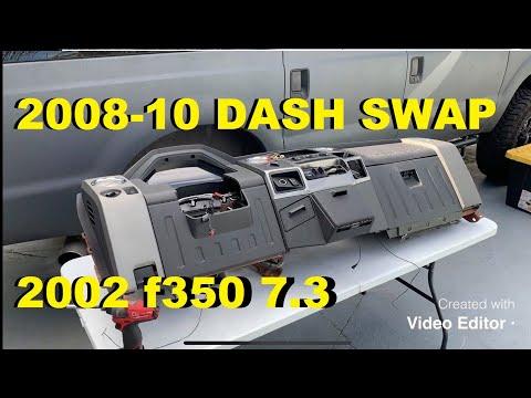 02 7.3L F250 Immokalee Project Part 2 08-10 Dash Swap