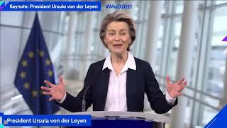 Keynote address by ursula von der leyen, president, european commission#mod2021https://mastersofdigital.org/https://www.digitaleurope.org/