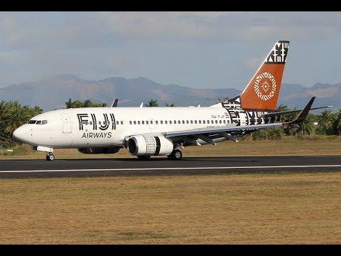 Prepar 3D - IVAO | Boeing 737-700 Fiji Airways | La Tontouta/Noumé to Nausori/Fiji via Nadi/Fiji