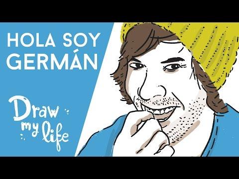 HOLASOYGERMAN - Draw My Life en Español