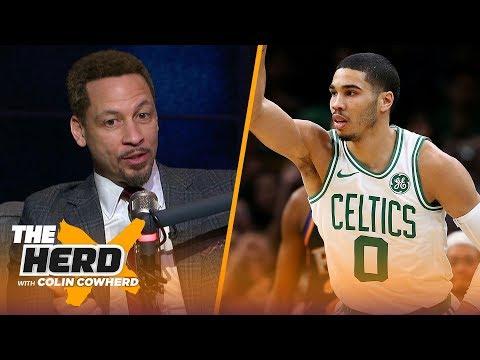 Chris Broussard defends Westbrook, talks Jayson Tatum interested in Pelicans rumors | NBA | THE HERD thumbnail
