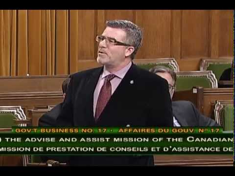 Craig Scott, Speech on the expansion of Canadian War Effort in Iraq and Syria