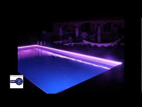 Iluminacion de leds para piscinas youtube for Iluminacion piscinas