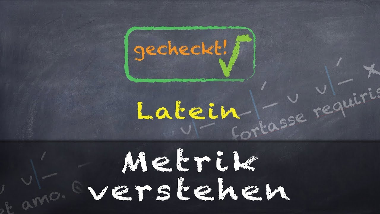 Download Latein - Metrik - mit einem Beispiel einfach erklärt!
