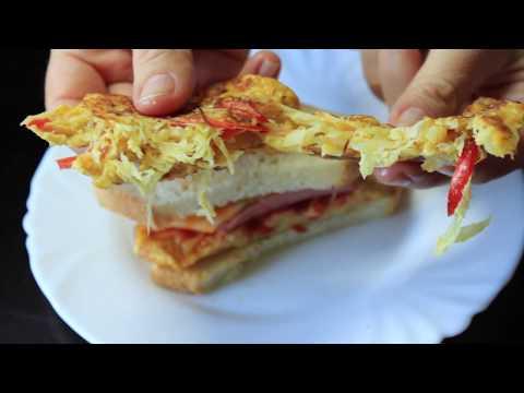 ЗАМЕЧАТЕЛЬНЫЙ ПЕРЕКУС в ШКОЛУ или НА РАБОТУ для ЛАНЧ БОКСА.Рецепт бутербродов.Sandwich For Lunch Box
