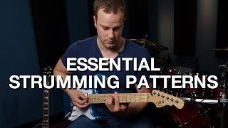 essential strumming patterns rhythm guitar lesson 9