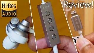 Download lagu World's First 24bit Hi-Res Lightning Earphones for Apple Devices!