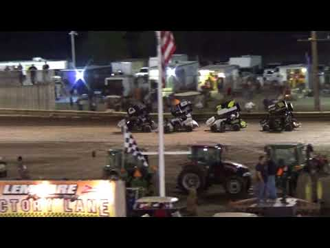 T-Zone Promotions - Lemoore Raceway - September 23, 2017 Restrictor Main Event  Cae