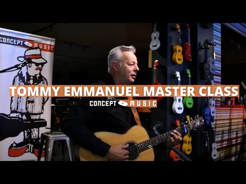 Tommy Emmanuel Master Class at Concept Music