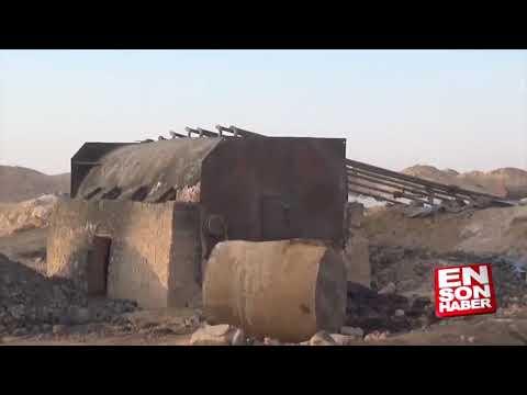 İŞİD-in gizli neft anbarı tapıldı