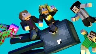 "♫ ""THE SQUID"" - Minecraft Parody of Ylvis - The Fox (ft. MlgHwnT, GizzyGazza, GoldSolace & Kuledud3) thumbnail"