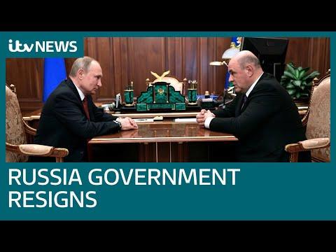 Putin announces Mikhail Mishustin as new Russian prime minister | ITV News
