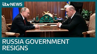 Putin announces Mikhail Mishustin as new Russian prime minister | ITV News