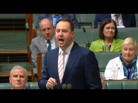 My Question in Question Time to Minister Ciobo