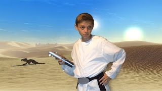 Make Your Own Luke Skywalker Costume and Lightsaber! (DIY)