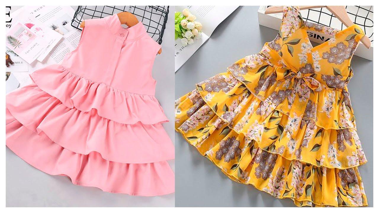 ESPECTACULARES diseños de vestidos para niñas a la moda
